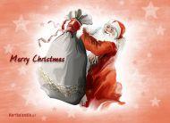 eKartki Boże Narodzenie Świąteczny worek prezentów,