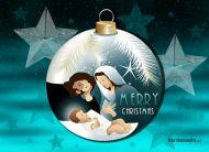 eKartki Boże Narodzenie Święta rodzinka,