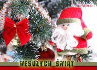 eKartki Boże Narodzenie Święta z choinką,