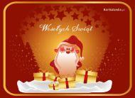 eKartki Boże Narodzenie Święty Mikołaj,