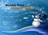 eKartki Boże Narodzenie Urok Świąt,