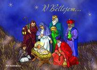 eKartki Boże Narodzenie W Betlejem,