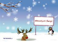 eKartki Boże Narodzenie W zimowym nastroju,