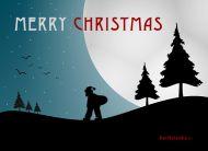 eKartki Boże Narodzenie Wędrówka Mikołaja,