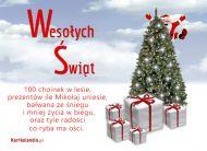 eKartki Boże Narodzenie Wesoły Mikołaj,