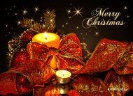 eKartki Boże Narodzenie Wigilijnej nocy blask,