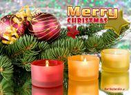eKartki elektroniczne z tagiem: Kartka bożonarodzeniowa Wigilijny blask,