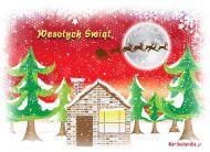 eKartki Boże Narodzenie Wigilijny wieczór,