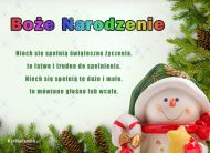 eKartki Boże Narodzenie Wspaniałe życzenia,