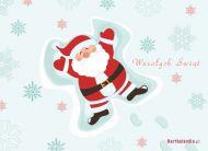 eKartki Boże Narodzenie Zadowolony Mikołaj,