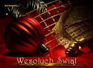 eKartki Boże Narodzenie Złota blask w Boże Narodzenie,