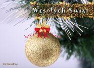 eKartki Boże Narodzenie Złote święta,