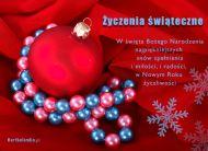 eKartki Boże Narodzenie Życzenia świąteczne,