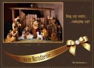 eKartki elektroniczne z tagiem: Bo¿e Narodzenie Narodziny Jezusa,