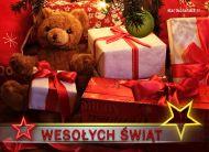 eKartki Boże Narodzenie Prezenty pod choinką,