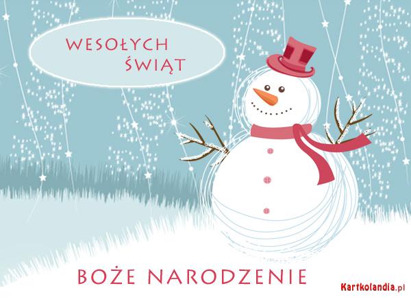 Śnieżne Boże Narodzenie
