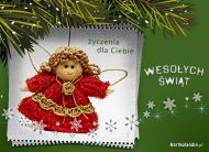 eKartki elektroniczne z tagiem: Bo¿e Narodzenie Anielskie ¿yczenia,