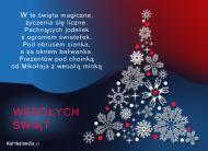 eKartki Boże Narodzenie Magiczne święta,