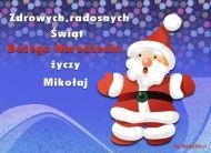 eKartki Boże Narodzenie Mikołaj życzy,