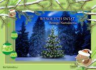 eKartki elektroniczne z tagiem: Kartka bożonarodzeniowa Świąteczna choinka,