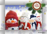 eKartki Boże Narodzenie Świąteczne pozdrowienia,