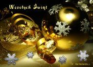 eKartki elektroniczne z tagiem: eKartki Złote Boże Narodzenie,