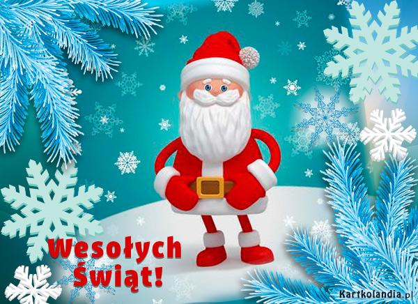 Mikołaj życzy ...