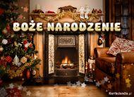 eKartki elektroniczne z tagiem: Kartka bożonarodzeniowa Boże Narodzenie w domu,