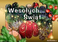 eKartki Boże Narodzenie Bożonarodzeniowy stroik,