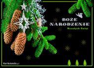 eKartki elektroniczne z tagiem: Kartka na Bo¿e Narodzenie Choinka pachn±ca jak las ...,