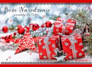 eKartki elektroniczne z tagiem: Kartka bożonarodzeniowa Czas na prezenty,