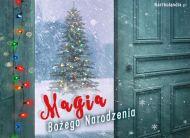 eKartki elektroniczne z tagiem: Darmowe kartki bo¿onarodzeniowe Magia Bo¿ego Narodzenia,