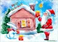 eKartki elektroniczne z tagiem: Darmowe kartki na Boże Narodzenie Prezenty od Mikołaja,