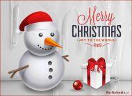 eKartki elektroniczne z tagiem: Kartka bożonarodzeniowa Przyszła zima i Boże Narodzenie,