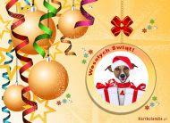 eKartki elektroniczne z tagiem: Kartka na Bo¿e Narodzenie ¦wi±teczna bombka,