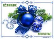 eKartki elektroniczne z tagiem: Kartka na Bo¿e Narodzenie ¦wi±teczna dekoracja,