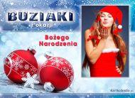 eKartki Boże Narodzenie Świąteczne buziaki,