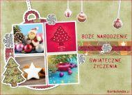 eKartki elektroniczne z tagiem: Kartka na Bo¿e Narodzenie ¦wi±teczne ¿yczenia,