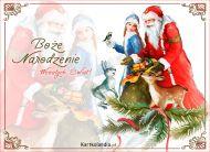 eKartki Boże Narodzenie Szczęśliwy święty dzień,