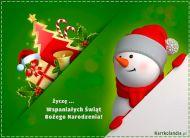 eKartki Boże Narodzenie Wspaniałych Świąt!,
