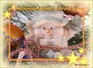 eKartki elektroniczne z tagiem: Kartki bożonarodzeniowe Zabawny bałwanek,
