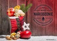 eKartki elektroniczne z tagiem: Kartka bożonarodzeniowa Zdrowych i Wesołych Świąt!,