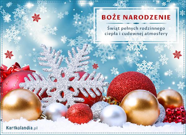 Z okazji Bożego Narodzenia