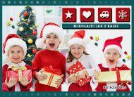 eKartki elektroniczne z tagiem: Kartki bożonarodzeniowe Mikołajki jak z bajki,