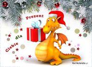 eKartki elektroniczne z tagiem: e-Kartka bożonarodzeniowa Prezent dla Ciebie,