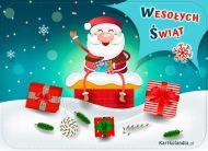 eKartki elektroniczne z tagiem: eKartki na Boże Narodzenie Wesoły Mikołaj,