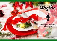 eKartki Boże Narodzenie Wigilijna wieczerza,