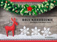 eKartki elektroniczne z tagiem: Kartki bożonarodzeniowe Życzenia z okazji świąt!,