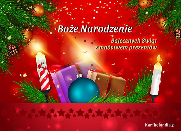 eKartki elektroniczne z tagiem: Bożonarodzeniowy Stroik Bajecznych Świąt!,