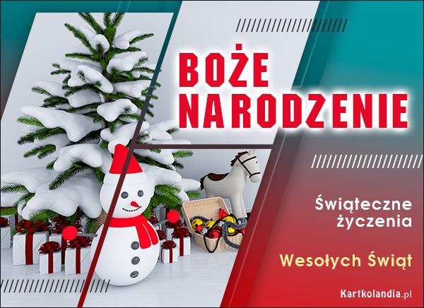 eKartki elektroniczne z tagiem: Bożonarodzeniowe Życzenia Bożonarodzeniowe życzenia!,